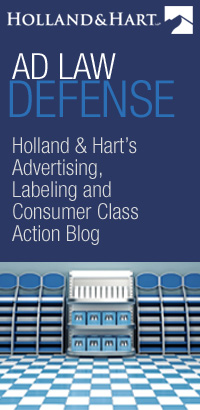 Ad Law Defense