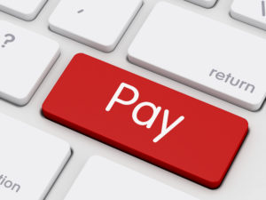 Pay writing on Keyboard